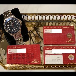 Omega watch GMT